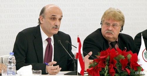 Samir-Geagea-atChristians-in-the-Midle-east-Confr-Photo-Aldo-Ayoub-30