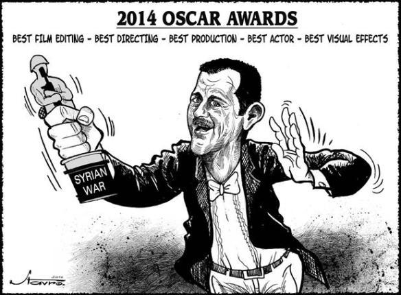 Bashar for al nusra and ISIS film